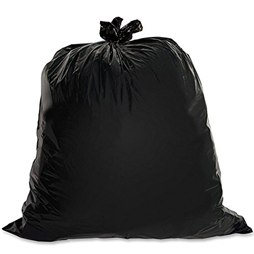 LAO SI JI Trash Bags, For 55-60 Gallon,Thickness:1.5 mil, Size: 39 x 47 in (100 Count)