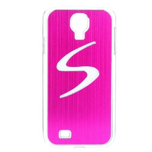 TOOGOO(R)Moderno LED Llamando Sentido Dura del Flash Luz Caja Cubierta Posterior para Samsung Galaxy S4 i9500 / i9505 (Rosa)