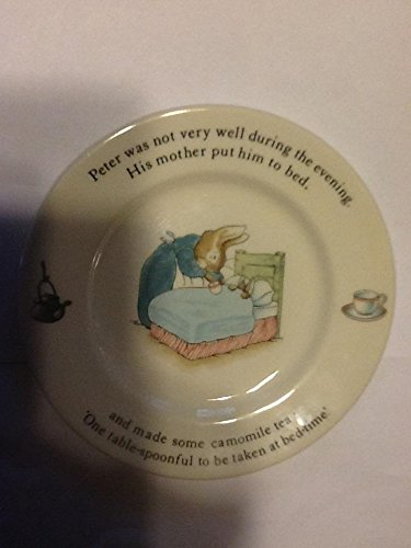 Peter rabbit bread plate
