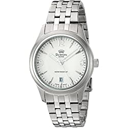 Richelieu Men's Swiss Quartz Stainless Steel Dress Watch, Color:Silver-Toned (Model: MRI9820703911)