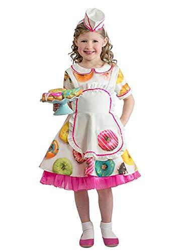 Princess Paradise Toddler Donut Waitress Costume