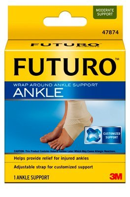 (3M 47876EN) (3M ID Number 70011000257) FUTURO(TM) Wrap Around Ankle Support, 47876EN, Large [You are purchasing the Min order quantity which is 12 EACHS] by 3M
