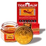Tiger Balm - Tiger Balm - Pain Relieving Ointment - Extra Strength - .63 Oz (Pack of 6) - Pack Of 6