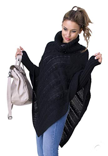 Maille Femme Glamour Empire en Pull Poncho T56UXZq6w