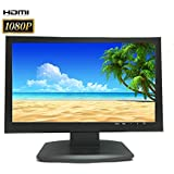 101AV Security Monitor 19.5 Full HD 1080P 1920x1080 3D Comb Filter HDMI VGA 1xBNC Input and 1xBNC Output Wide Screen Audio Video Display 24/7 survillance application Computer PC monitor for CCTV DVR Home Office Surveillance
