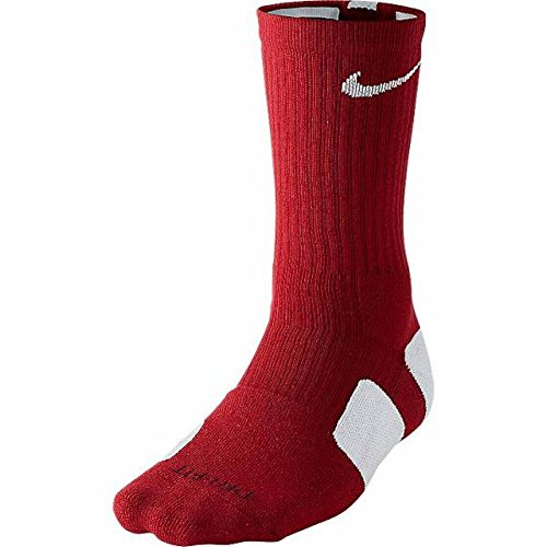 9d13cf967e70 Galleon - Nike Elite Basketball Crew Socks Small (Shoe Size 4-6) Red ...