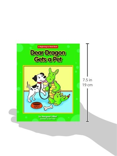Dear Dragon Gets a Pet (Beginning-to-read) by Norwood House Pr