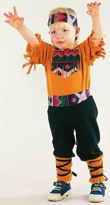 El Carnaval Disfraz Indio Bebe Talla de 2 a 4 años - Disfraz Indio ...
