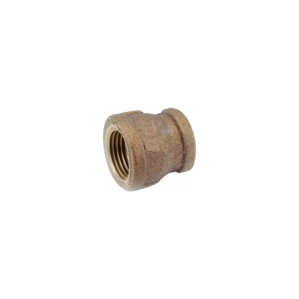 Anderson Metals Corp Inc 38119 0602 Red Brass Reducing Coupling