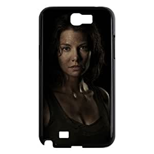 Fashion Style for Samsung Galaxy Note 2 Cell Phone Case Black maggie greene in the walking dead YIP4872496