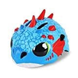 Kids Helmet, Sport Protective Gear for Cycling Skating Skiing Adjustable for Children 5 to Years Old(for 42-52cm) (Color : Blue)