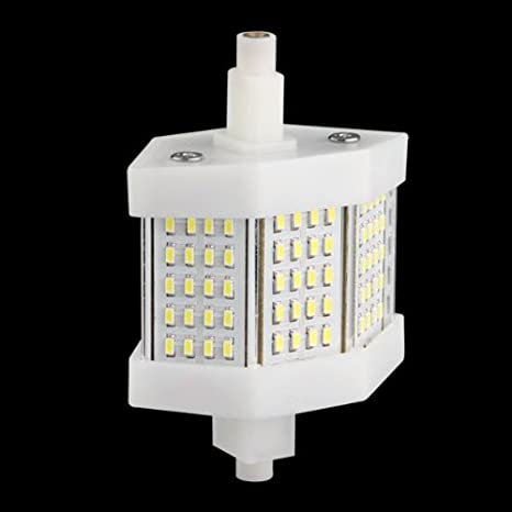 R7S 78mm 60 3014 SMD LED Bombilla Lámpara Luz Blanco 6W 6000K: Amazon.es: Iluminación