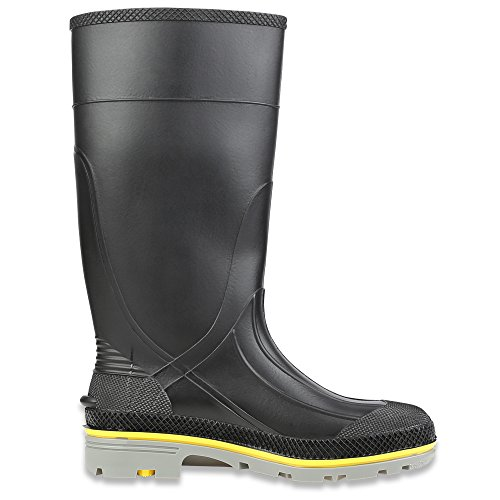 Honeywell Safety 75109-10 Servus XTP Chemical Resistant Men's Safety Hi Boot, Size-10, Black/Yellow/Grey - Image 5