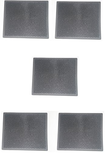 LifeSupplyUSA 5 Pack HEPA Filter fits Alen BF25A HEPA-Pure Replacement Filter for HEPA-Fresh A350, A375 Air Purifier (Bf25a Replacement)