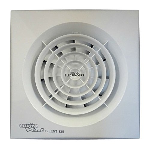 Envirovent SILENT-125S 'SILENT' Extractor Fan 5' 125mm (Standard Model - NO Timer)