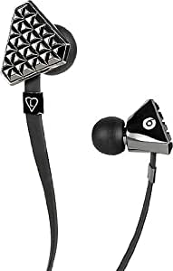 Beats by Dr. Dre Lady Gaga Heartbeats In-Ear Headphones - Black Chrome (Old Version) (japan import)