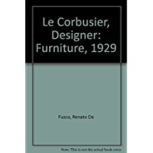 Le Corbusier, Designer: Furniture, 1929
