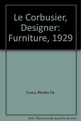 Le Corbusier, Designer: Furniture, ()