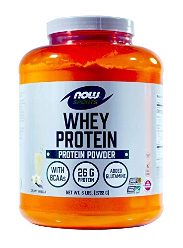 - NOW Foods - Whey Protein Vanilla - 6 lbs.
