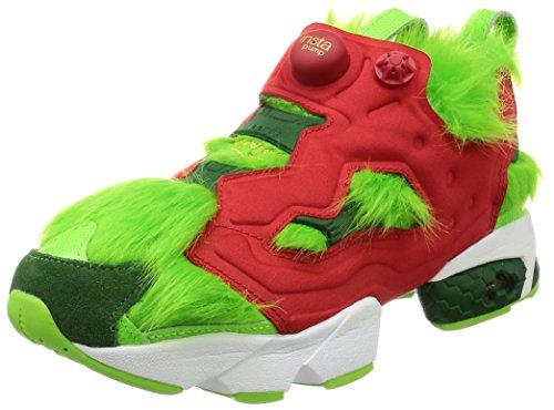 Reebok Fureur Cv Grinch, Solaire Vert-rouge-vert-or Pin Mehrfarbig M