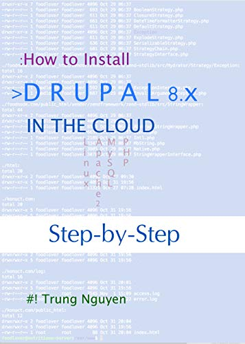 How to Install Drupal 8.x In the Cloud (English Edition)