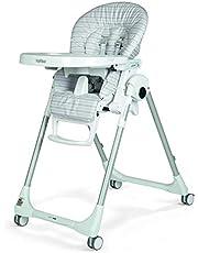 Peg Perego Prima Pappa Zero 3 High Chair, Linear Grey