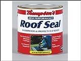 Ronseal HPRSBL4L Thompsons High Performance Roof Seal Black 4 Lit