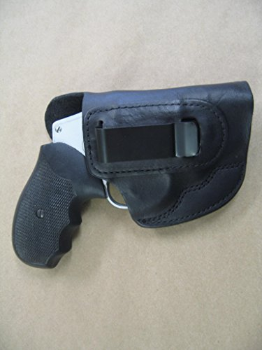 Kimber K6S 6 Shot Revolver Leather IWB In The Waistband Concealed Carry Holster BLACK RH