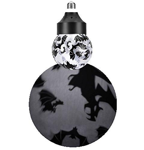 Bats Rotating Shadow Light Bulb]()