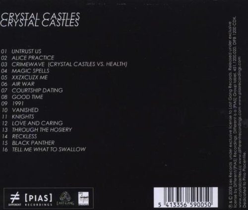 Crystal castles courtship dating instrumental love