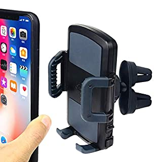 Universal Phone Holder Car Air Vent Mount,OHLPRO Smartphone Cradle for iPhone Xs Max R 8 Plus 7 Samsung Galaxy S10 E S9 S8 Plus Edge Note 9 & Other Phones