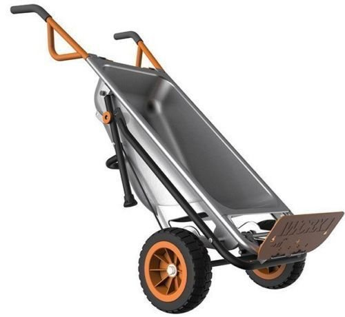 addtoword WG050 WORX AeroCart: 8-in-1 Multi-Function WheelBarrow Yard Cart by addtoword
