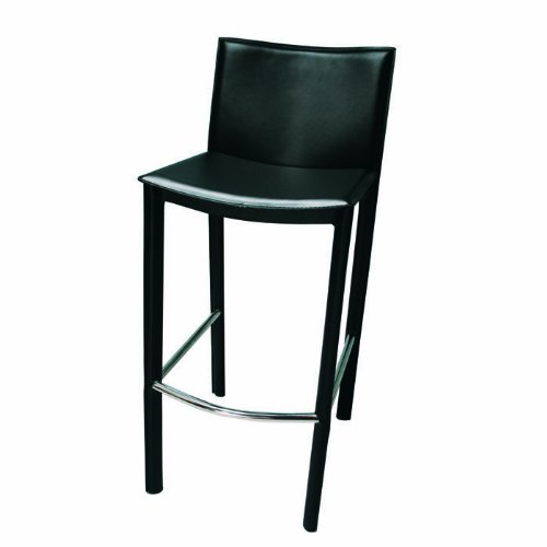 - tag - Elston Bar Stool, A Sleek & Contemporary Chair, A Perfect Addition to Any Home, Black