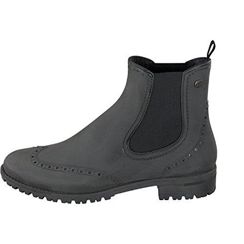Shoes Donna Gosch Black Stivali Gomma Di qRxH6Y