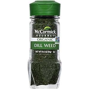 McCormick Gourmet Organic Dill Weed, 0.5 oz