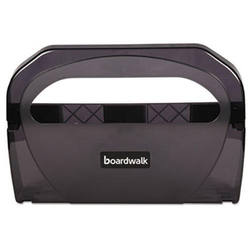 Boardwalk TS510SBBW Toilet Seat Cover Dispenser, Plastic, 17-1/4'' width, 3-1/8'' Depth, 11-3/4'' Height, Smoke black, 11.75'' Height, 17.25'' width