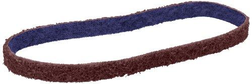 Scotch Brite Belts - Scotch-Brite(TM) Durable Flex Belt, 1/2 Width x 18 Length, Maroon (Pack of 20)