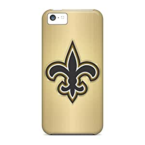 JCarrd Scratch-free Phone Case For Iphone 5c- Retail Packaging - New Orleans Saints