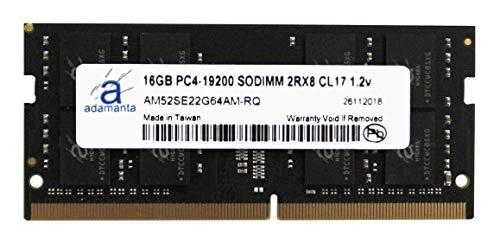 Adamanta 16GB (1x16GB) Laptop Memory Upgrade Compatible for Lenovo Thinkpad & ThinkCentre DDR4 2400Mhz PC4-19200 SODIMM 2Rx8 CL17 1.2v RAM DRAM