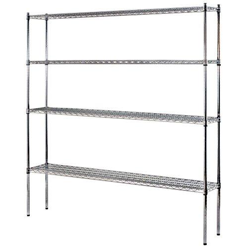 (Sandusky Lee WS721274-C Industrial Welded Wire Shelving, 72
