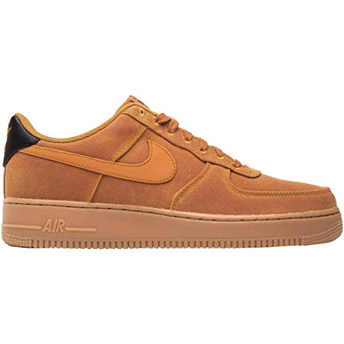 Nike Mens Air Force 1 07 LV8 Canvas Monarch Gum Trainers 9 US