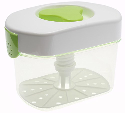 Kotobuki Tsukemono Rectangular Pickle Press 3 L, Green (Pickling Press)