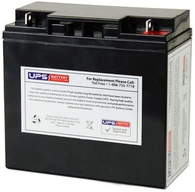 12V 22Ah NB - Battery Replacement for CAT CJ3000 2000 Peak Amp Jump Starter by UPSBatteryCenter