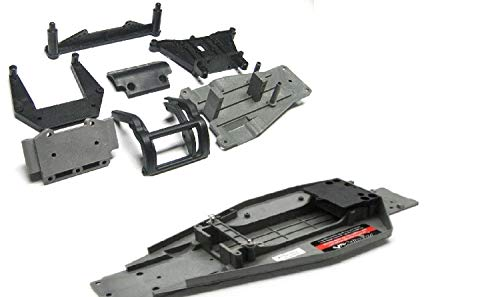 - TRAXXAS RUSTLER VXL CHASSIS, PLATE & PARTS, 3722A, RUSTLER VXL SHOCK TOWERS, BUMPER, SKID PLATES AND MORE