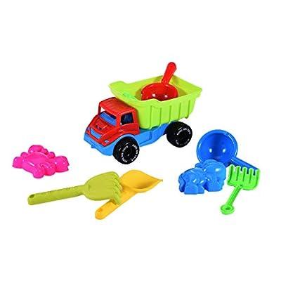 CreazyBee Digger Sandbox Set, Kids Beach Toy Set Can Be Expanded Big Digger Sandbox Fun and Cool Beach Toys (Multicolor): Toys & Games