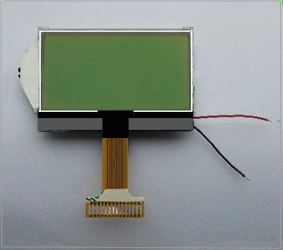 Jillier 12864 Character 128x64 Dots Graphic Matrix LCD Display Module Blue Backlight COG