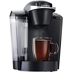 Keurig K50 Coffee Maker with brew sizes: 6, 8 and 10 ounces (black)