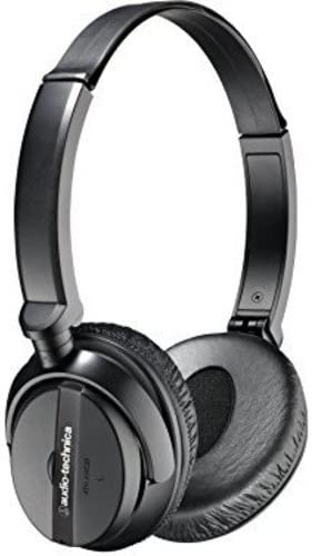 Audio Technica ATH-ANC20 QuietPoint Active Noise Cancelling On-Ear Headphones