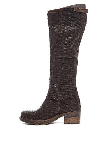 A.S.98 - Botas de Piel para mujer marrón marrón oscuro