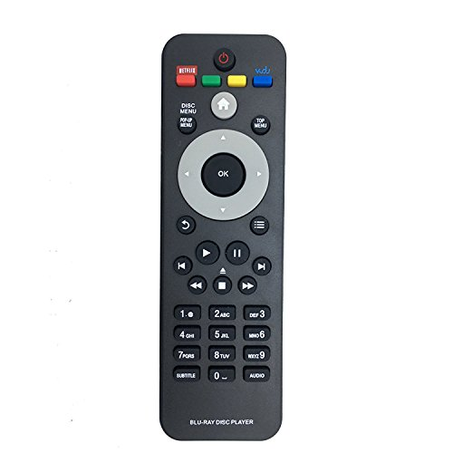 New Blu-ray DVD Remote for Philips Bdp2185/f7 Bdp3406 Bdp3306/f7 Bdp5506 Bdp5406 Bdp2985